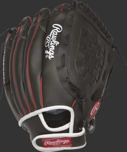 Back of an 11.5-Inch Players Series glove with an adjustable velcro back - SKU: MEIPL115GS