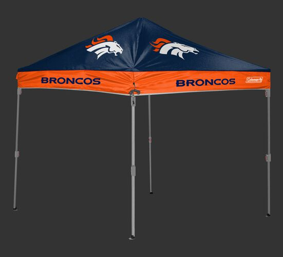 Rawlings Navy and Orange NFL Denver Broncos 10x10 Canopy Shelter With Team Logo and Name SKU #03221066111