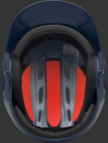 Coolflo High School/College Batting Helmet Navy