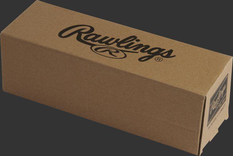 A Rawlings box designed to hold 3 baseballs - SKU: PMBBPK3