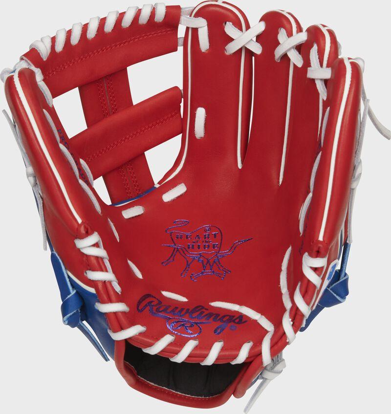 2021 Texas Rangers Heart of the Hide Glove