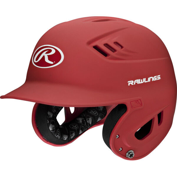 Velo Senior Batting Helmet Scarlet