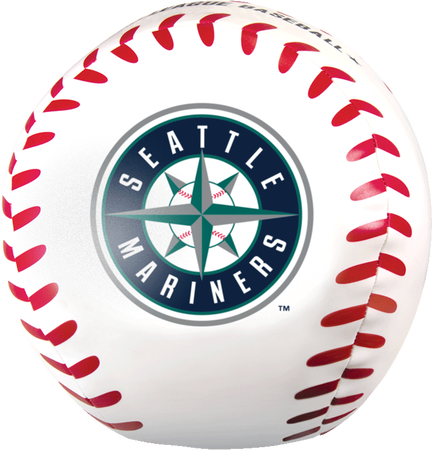 MLB Seattle Mariners Big Boy 8 in Softee Baseball