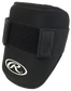 A black GUARDEB-B adult baseball elbow guard