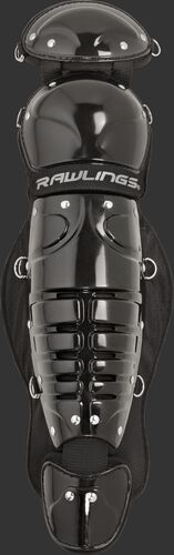 Black LGPLJR Players Series junior leg guards