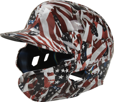 Mach EXT USA Hydro Dipped Helmet | Right Handed Batter