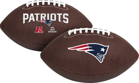 NFL New England Patriots Air-It-Out youth football with team logo