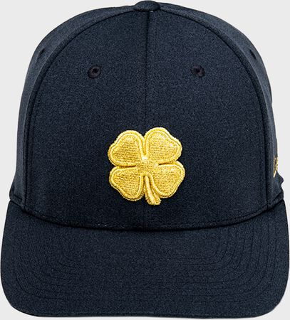 Rawlings Black Clover Gold Glove Fitted Hat