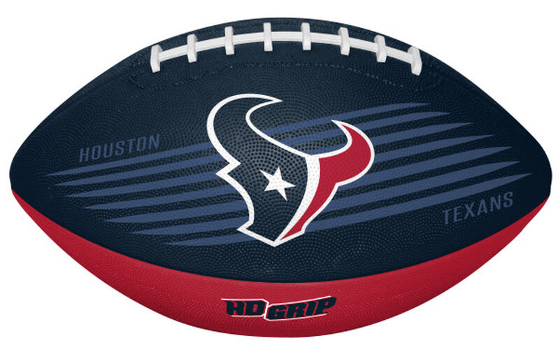Navy and Red NFL Houston Texans Downfield Youth Football With Team Logo SKU #07731093121
