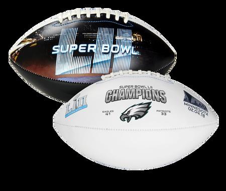 Super Bowl 52 Champions Philadelphia Eagles Full Size Football