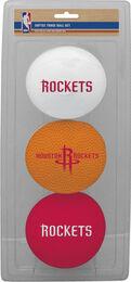 NBA Houston Rockets Three-Point Softee Basketball Set