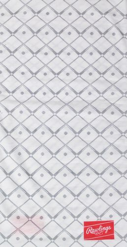 A white bats Rawlings multi functional gaiter - SKU: RC40005-100