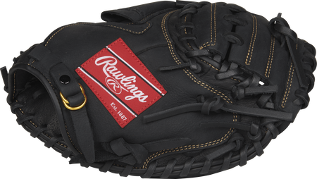 RCM315B Renegade 31.5-inch youth catcher's mitt with a black thumb and black One-Piece Solid web