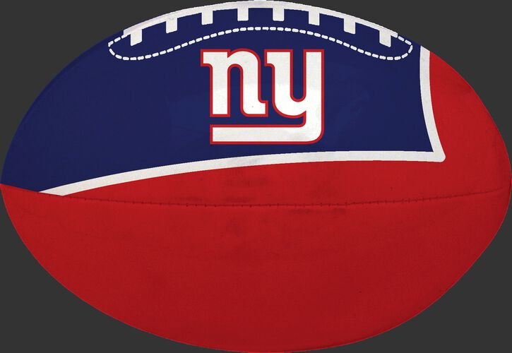 Red and Blue NFL New York Giants Football With Team Logo SKU #07831078114