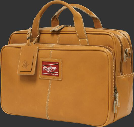 Heart of the Hide Tan Briefcase