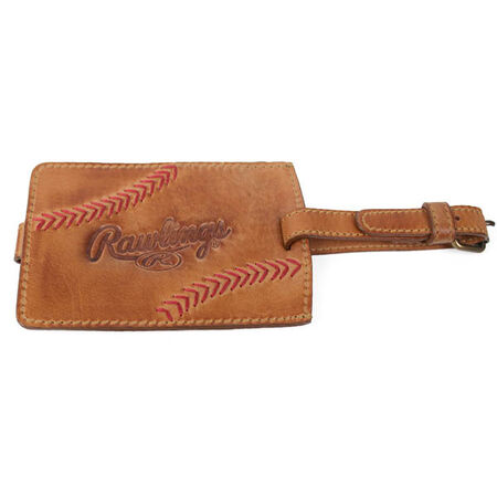 Baseball Stitch Luggage Tag