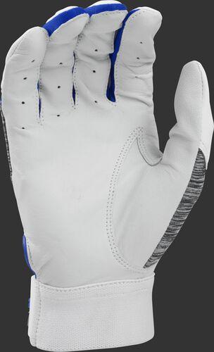 White palm of a 5150WBG-R 5150 batting glove