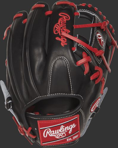 PROSFL12 11.75-inch Rawlings Pro Preferred infield glove with a black back