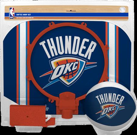 NBA Oklahoma City Thunder Softee Hoop Set