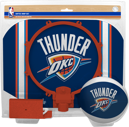 NBA Oklahoma City Thunder Softee Hoop Set