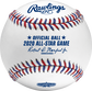 A MLB 2020 All-Star game baseball with the commissioner's signature - SKU: ASBB20-R image number null