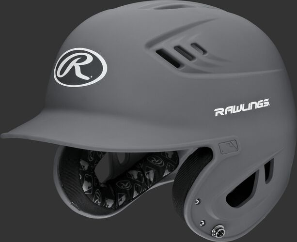 A graphite R16MS Velo batting helmet with Cool-Flo vents
