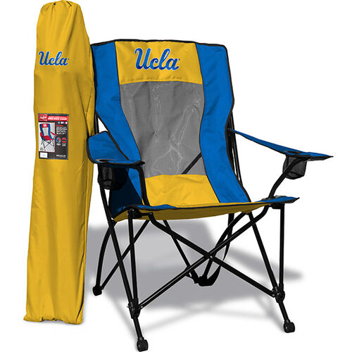 Front of Rawlings Blue and Gold NCAA UCLA Bruins Back Chair With Team Logo SKU #09403065518