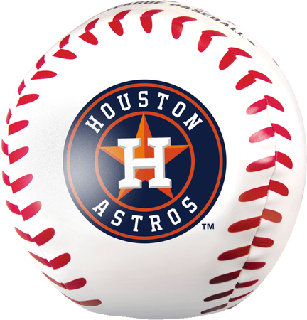 MLB Houston Astros Big Boy 8 in Softee Baseball