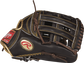 Thumb view of a mocha RGG3039-6MO Gold Glove 12.75-inch outfield glove with a mocha H web and gold Oval R logo image number null