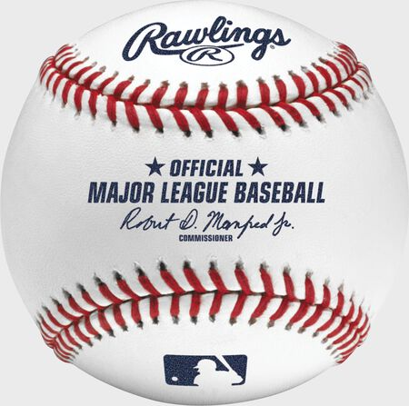 MLB Official Baseball with Display Cube