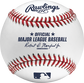 A ROMLB Official MLB baseball with the commissioner's signature and MLB logo image number null