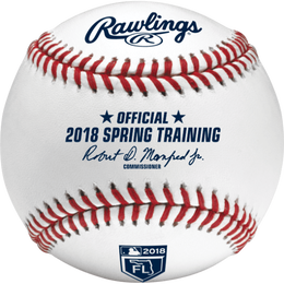 MLB 2018 Spring Training Florida Baseballs