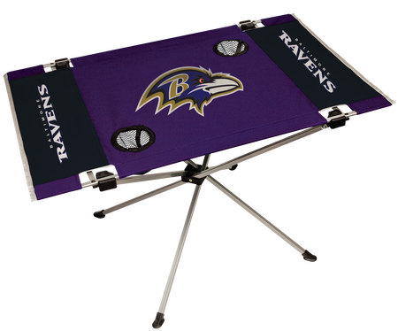 NFL Baltimore Ravens Endzone Table