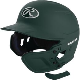 Mach EXT Batting Helmet Extension For Right-Handed Batter Dark Green