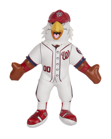 MLB Washington Nationals Mascot Softee