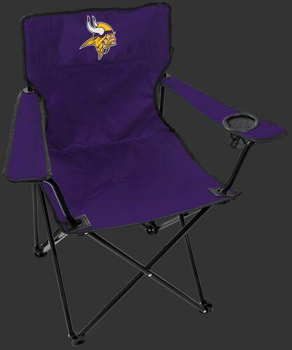 Front of Rawlings Purple NFL Minnesota Vikings Gameday Elite Chair With Team Logo SKU #00551075111