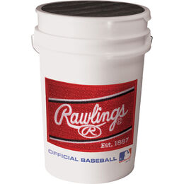 Bucket of ROLB1X Practice Baseballs (30 EA Balls)
