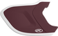 MEXT2R maroon/white Mach EXT Two-Tone batting helmet extension