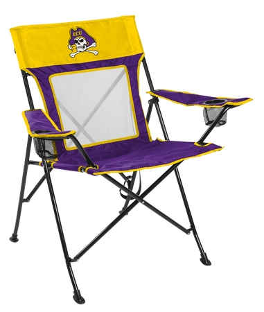 NCAA East Carolina Pirates Game Changer chair with the team logo