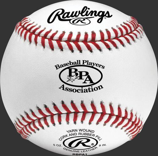 RBPA1 Baseball Players Association competition grade baseball with raised seams
