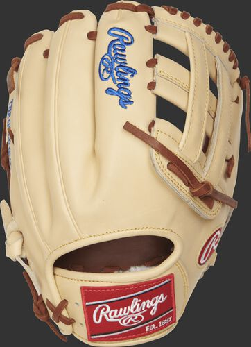 PROSKB17 Pro Preferred 12.25-inch baseball glove with a camel back