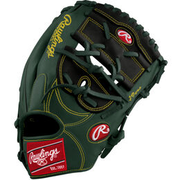 Green/White Custom Glove