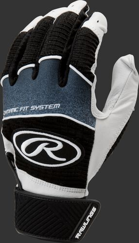 A black WH950BGY-B youth Workhorse batting glove