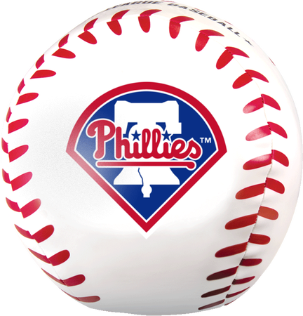 MLB Philadelphia Phillies Big Boy 8 in Softee Baseball