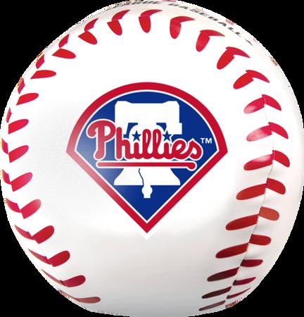 MLB Philadelphia Phillies Big Boy 8 in Softee Baseball