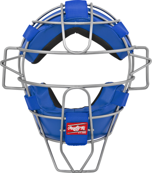 Adult Lightweight Hollow Wire Catcher/Umpire Mask Royal