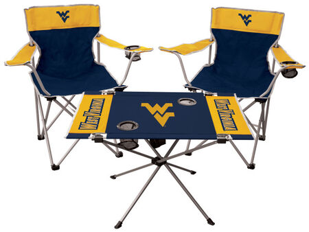 NCAA West Virginia Moutaineers 3-Piece Tailgate Kit