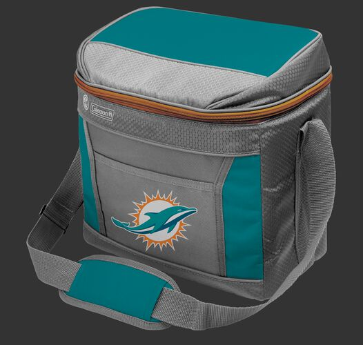 Rawlings Miami Dolphins 16 Can Cooler In Team Colors With Team Logo On Front SKU #03291074111
