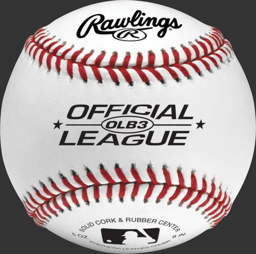 An Official League recreational baseball - SKU: OLB3