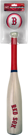 MLB Boston Red Sox Bat and Ball Set
